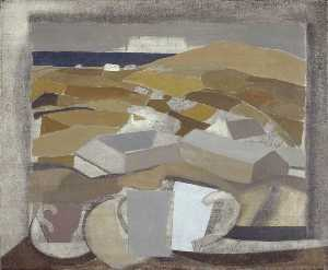 Ben Nicholson - 1946 (window in Cornwall)