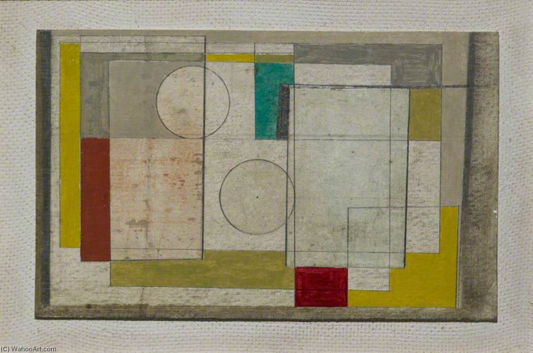 1945 (painting), 1945 by Ben Nicholson (1894-1982, United Kingdom) | Painting Copy | WahooArt.com