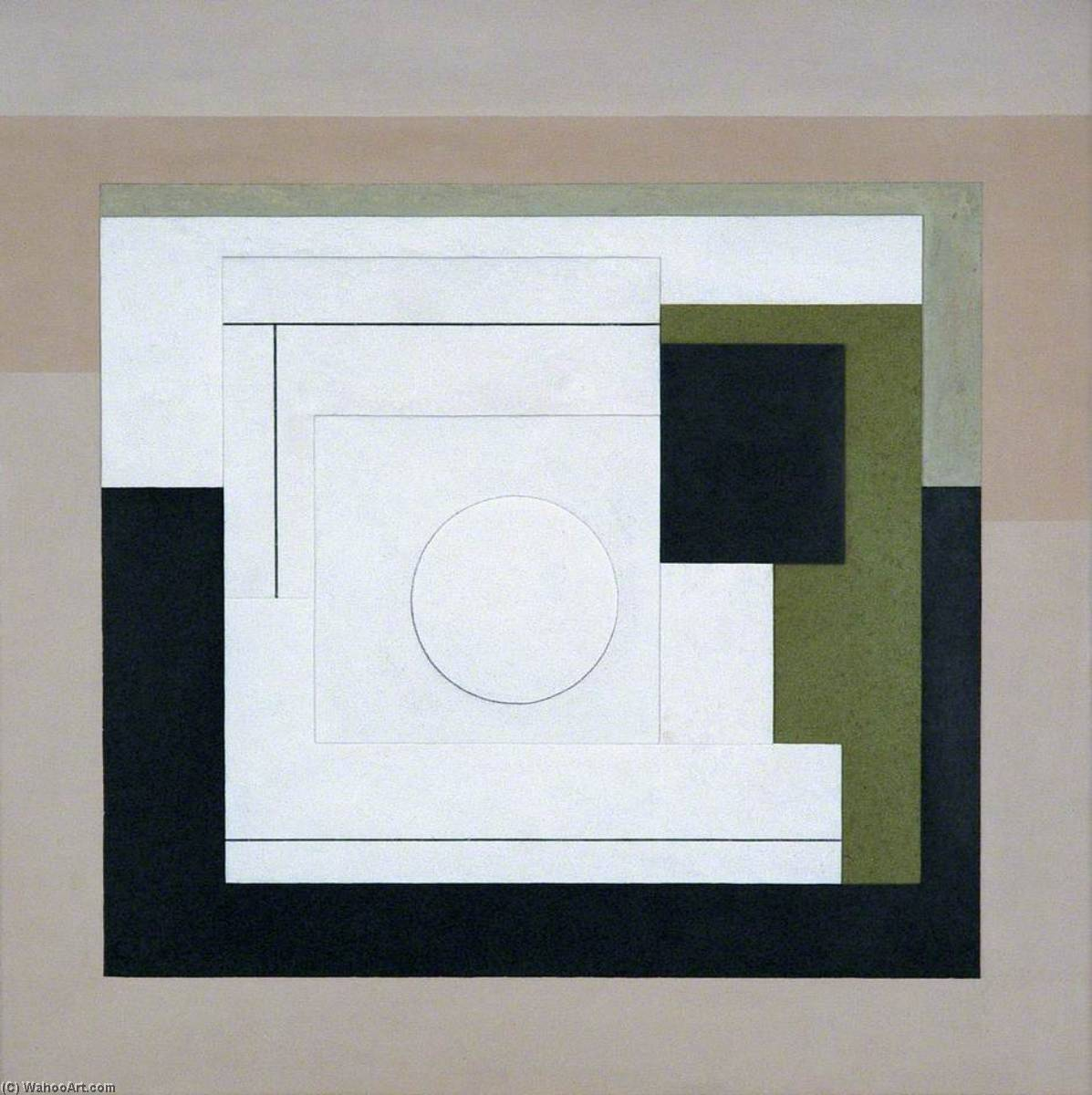 1944–5 (painted relief), 1945 by Ben Nicholson (1894-1982, United Kingdom) | WahooArt.com