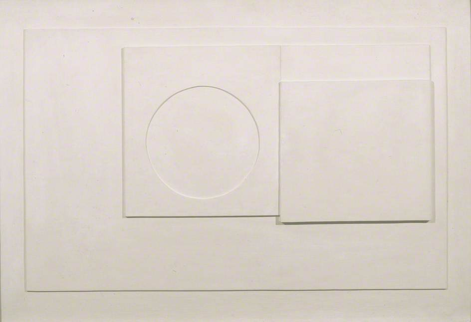 1935 (white relief), Carved by Ben Nicholson (1894-1982, United Kingdom)