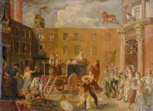 Rodney Joseph Burn - The 'Red Lion' Inn
