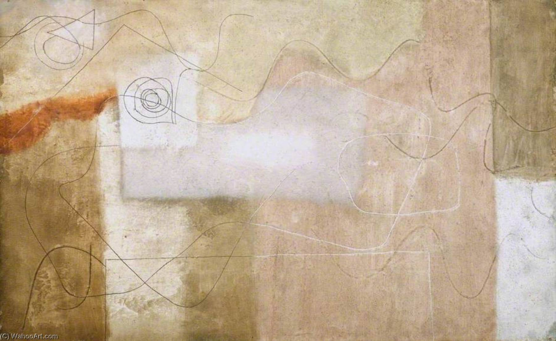 1932 (painting), Pen by Ben Nicholson (1894-1982, United Kingdom)