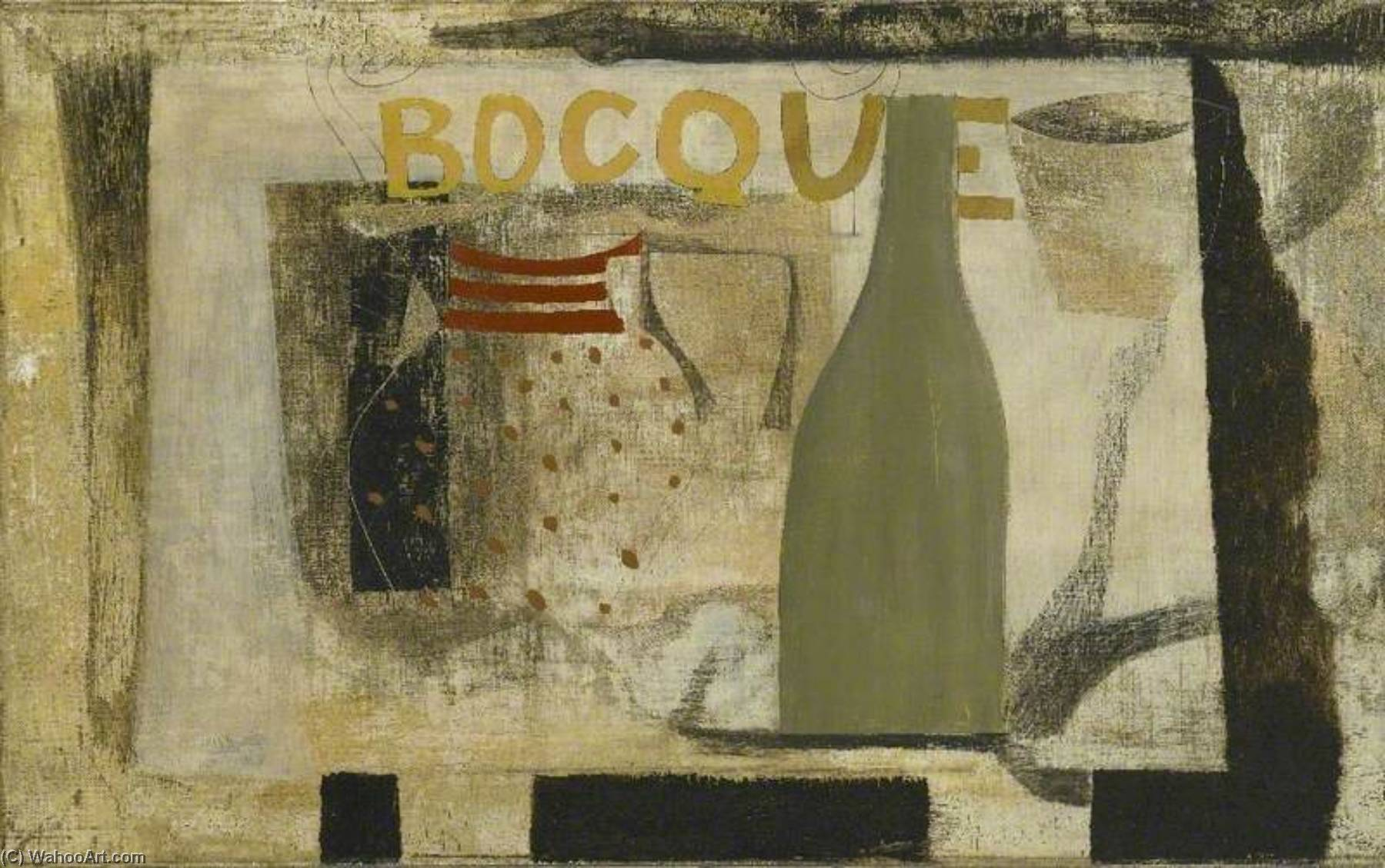 1932 (Bocque), 1932 by Ben Nicholson (1894-1982, United Kingdom) |  | WahooArt.com