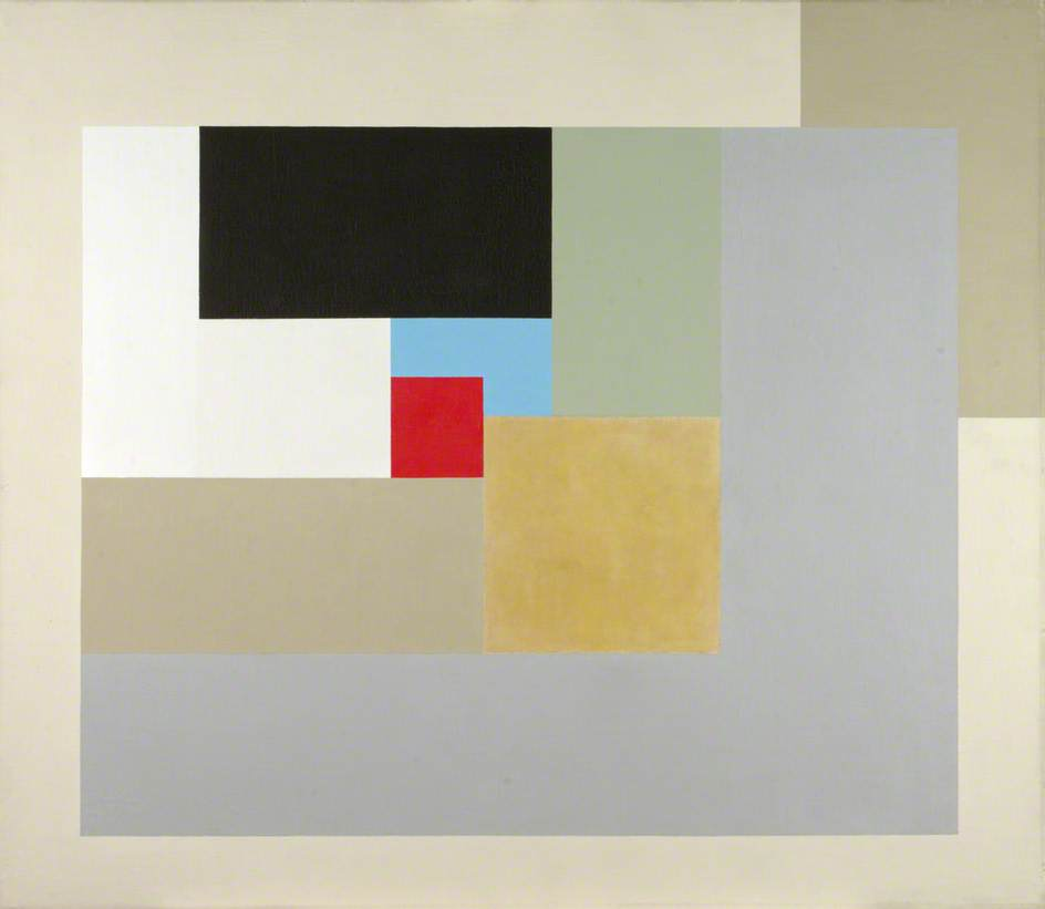1937 (painting), Oil On Canvas by Ben Nicholson (1894-1982, United Kingdom)