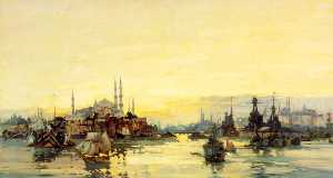 Frank Mason - The Allied Fleet and Shipping at Constantinople