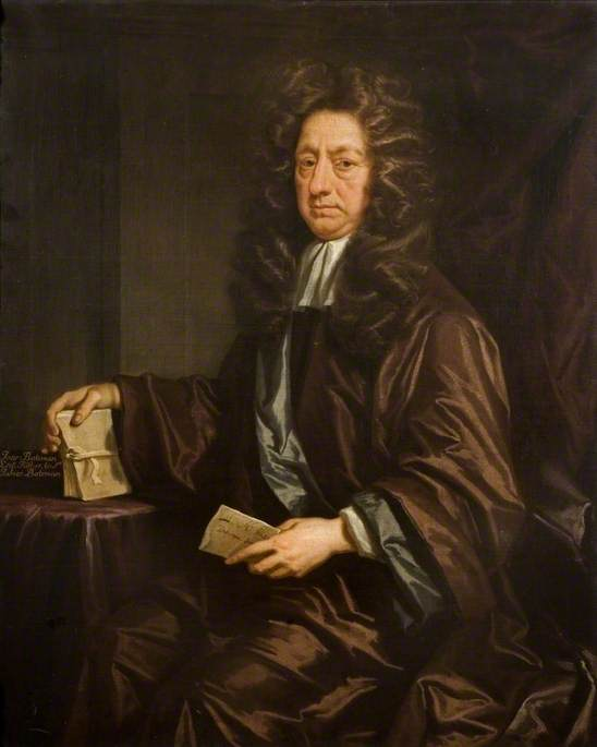 Order Oil Painting : Josiah Bateman, 1718 by Jonathan Richardson The Elder (1667-1745) | WahooArt.com