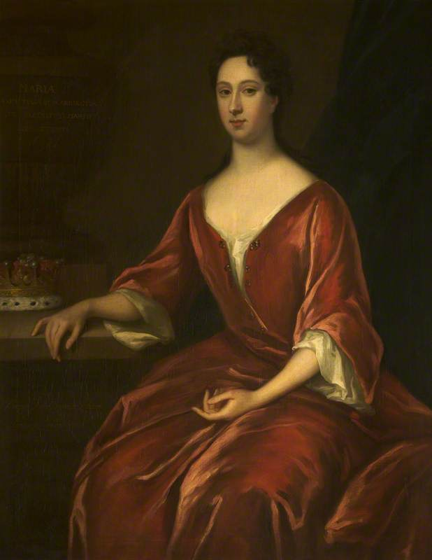 Mary Langham (1653 1654–1690 1691), Countess of Warrington, 1705 by Jonathan Richardson The Elder (1667-1745) | Art Reproduction | WahooArt.com