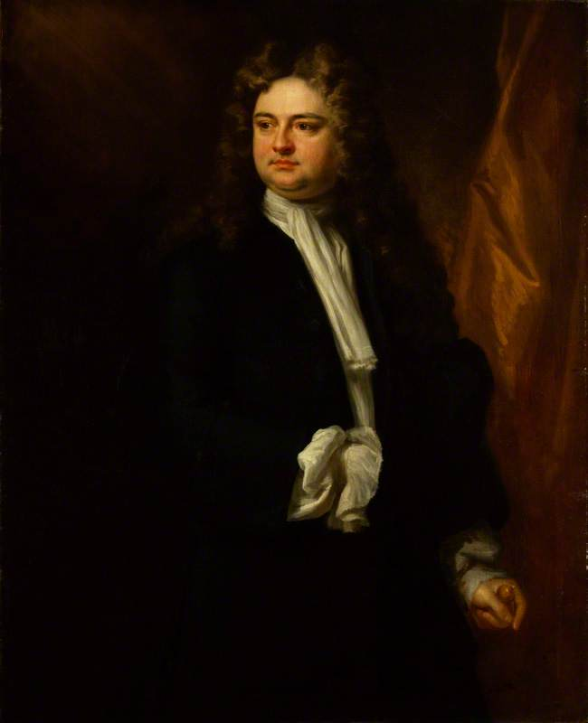 Sir Richard Steele, 1712 by Jonathan Richardson The Elder (1667-1745) | Art Reproduction | WahooArt.com
