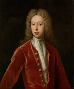Order Painting Copy : Henry Hare (1693–1749), 3rd Baron Coleraine, 1715 by Jonathan Richardson The Elder (1667-1745) | WahooArt.com