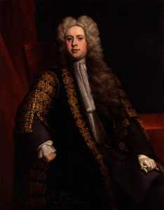 Jonathan Richardson The Elder - Sir William Wyndham, 3rd Bt