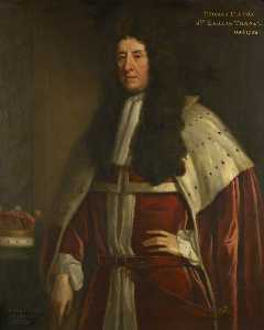Jonathan Richardson The Elder - Thomas Tufton (1644–1729), 7th Earl of Thanet