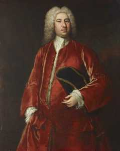 Jonathan Richardson The Elder - Sir Robert Davers (c.1684–1723), 3rd Bt