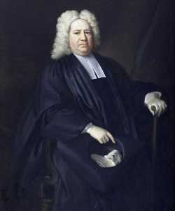 Jonathan Richardson The Elder - The Reverend William Lucy (1673 1674–1723 1724)