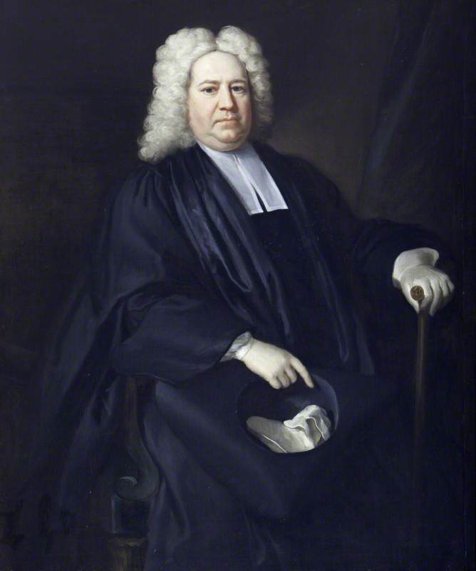 The Reverend William Lucy (1673 1674–1723 1724), 1723 by Jonathan Richardson The Elder (1667-1745) | Museum Quality Reproductions | WahooArt.com