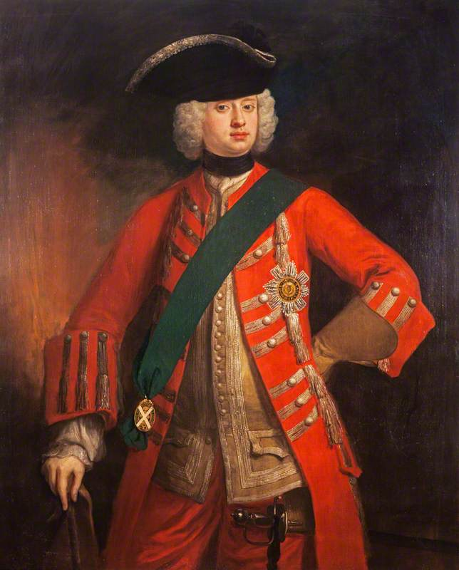 Order Oil Painting : John Carmichael (1701–1767), 3rd Earl of Hyndford, Diplomat, 1726 by Jonathan Richardson The Elder (1667-1745) | WahooArt.com