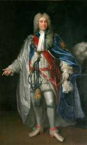 Jonathan Richardson The Elder - Sir Robert Walpole, KG (1676–1745)