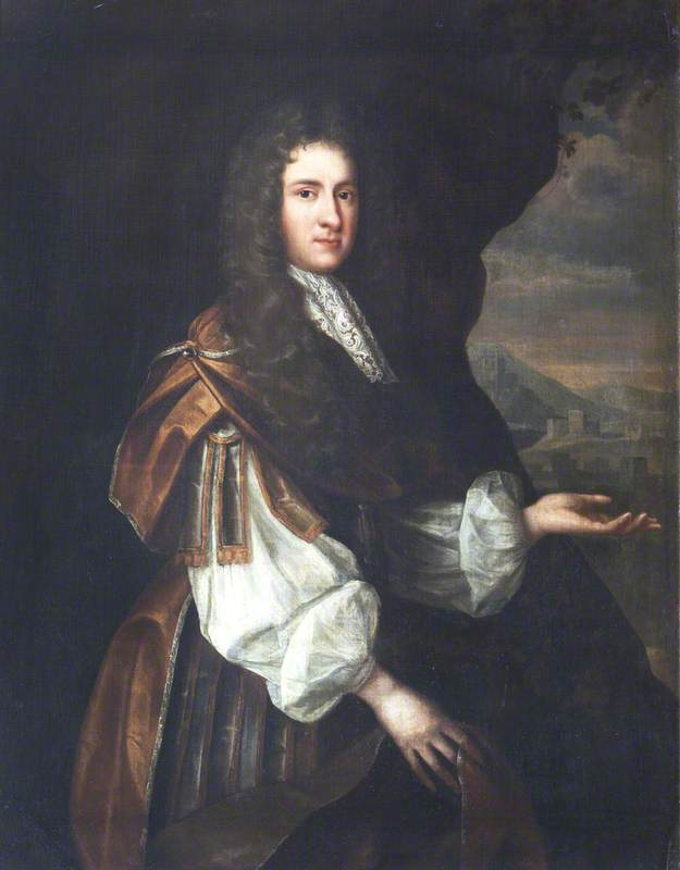 William Brownlow (1633–1675) by Jonathan Richardson The Elder (1667-1745) | Museum Quality Reproductions | WahooArt.com