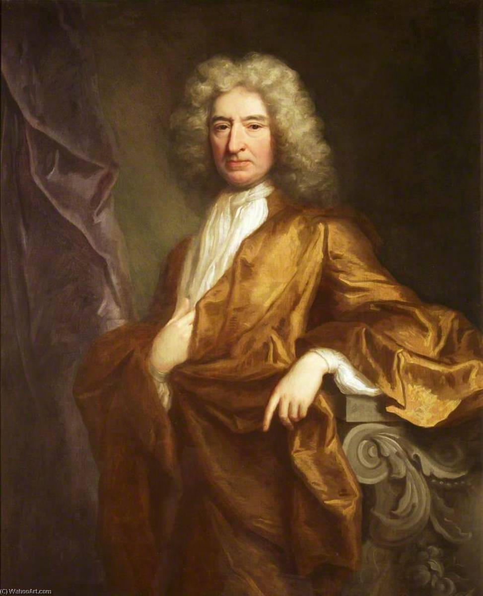Edward Colston (1636–1721) by Jonathan Richardson The Elder (1667-1745) | Oil Painting | WahooArt.com