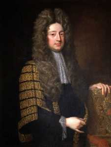 Jonathan Richardson The Elder - William Cowper, 1st Earl of Cowper (1665–1723), Lord Chancellor