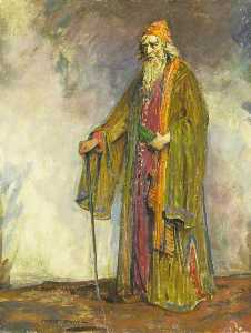 Charles A Buchel - Herbert Beerbohm Tree (1852–1917), as Shylock in 'The Merchant of Venice' by William Shakespeare