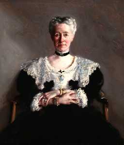 Francis Campbell Boileau Cadell - Miss Grace Chalmers Wood
