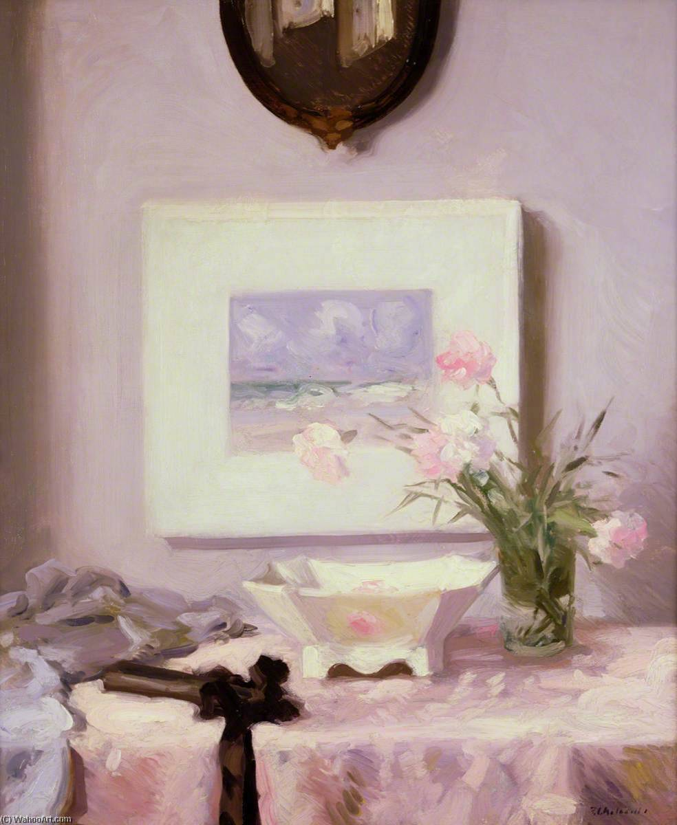 Carnations by Francis Campbell Boileau Cadell (1883-1937) | Museum Quality Reproductions | WahooArt.com