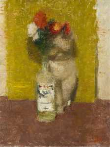Victor Pasmore - Still Life with Flowers