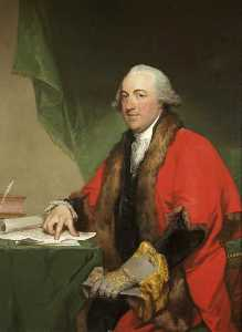 Gilbert Stuart - Henry Cruger, of New York, Mayor of Bristol and Master of The Merchant Venturers Society, 1781