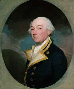 Gilbert Stuart - Captain William Locker (1731–1800)