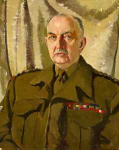 Doris Clare Zinkeisen - Major General George Lindsay (1880–1956)