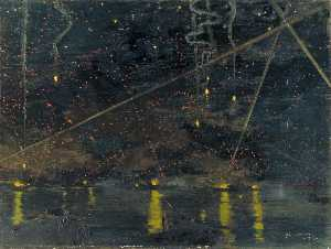 John Worsley - A Night Air Raid over Augusta