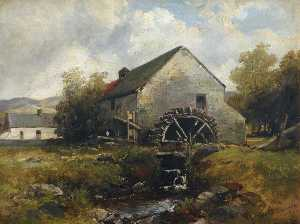Edmund Thornton Crawford - Watermill