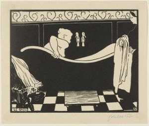 Felix Vallotton - The Bath (Le Bain) from the portfolio The Original Print (L'Estampe originale), no. VIII