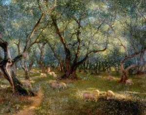 Thomas Bowman Garvie - Olives of St Rocco