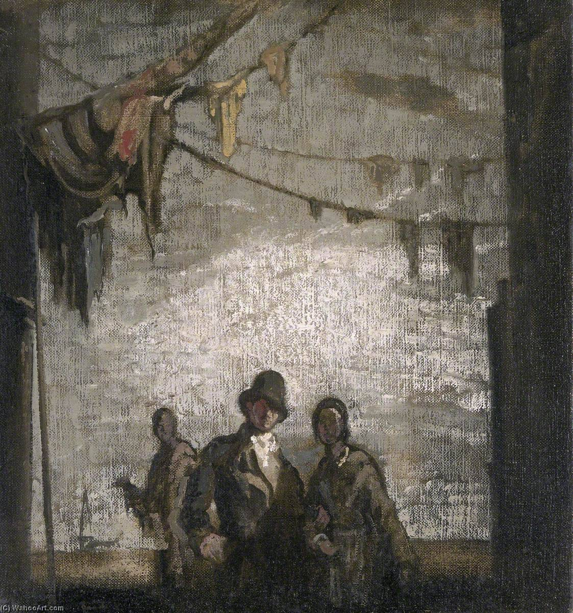 Rag Alley, Oil On Canvas by James Ferrier Pryde (1866-1941, Scotland)