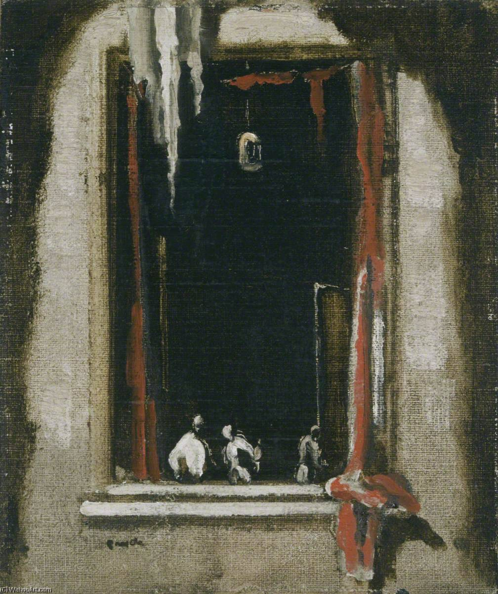 Order Painting Copy : Venetian Window, 1911 by James Ferrier Pryde (1866-1941, Scotland) | WahooArt.com