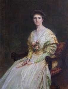 Louisa Starr Canziani - Mrs Julius Drewe, née Frances Richardson (1871–1954)