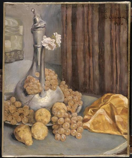Nature morte by Emile Bernard (1868-1941, France) | Famous Paintings Reproductions | WahooArt.com