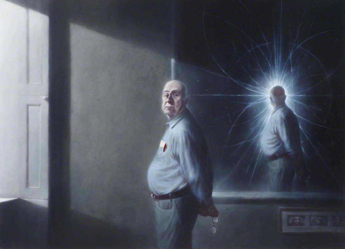Peter Higgs (b.1929), Oil On Canvas by Ken Currie