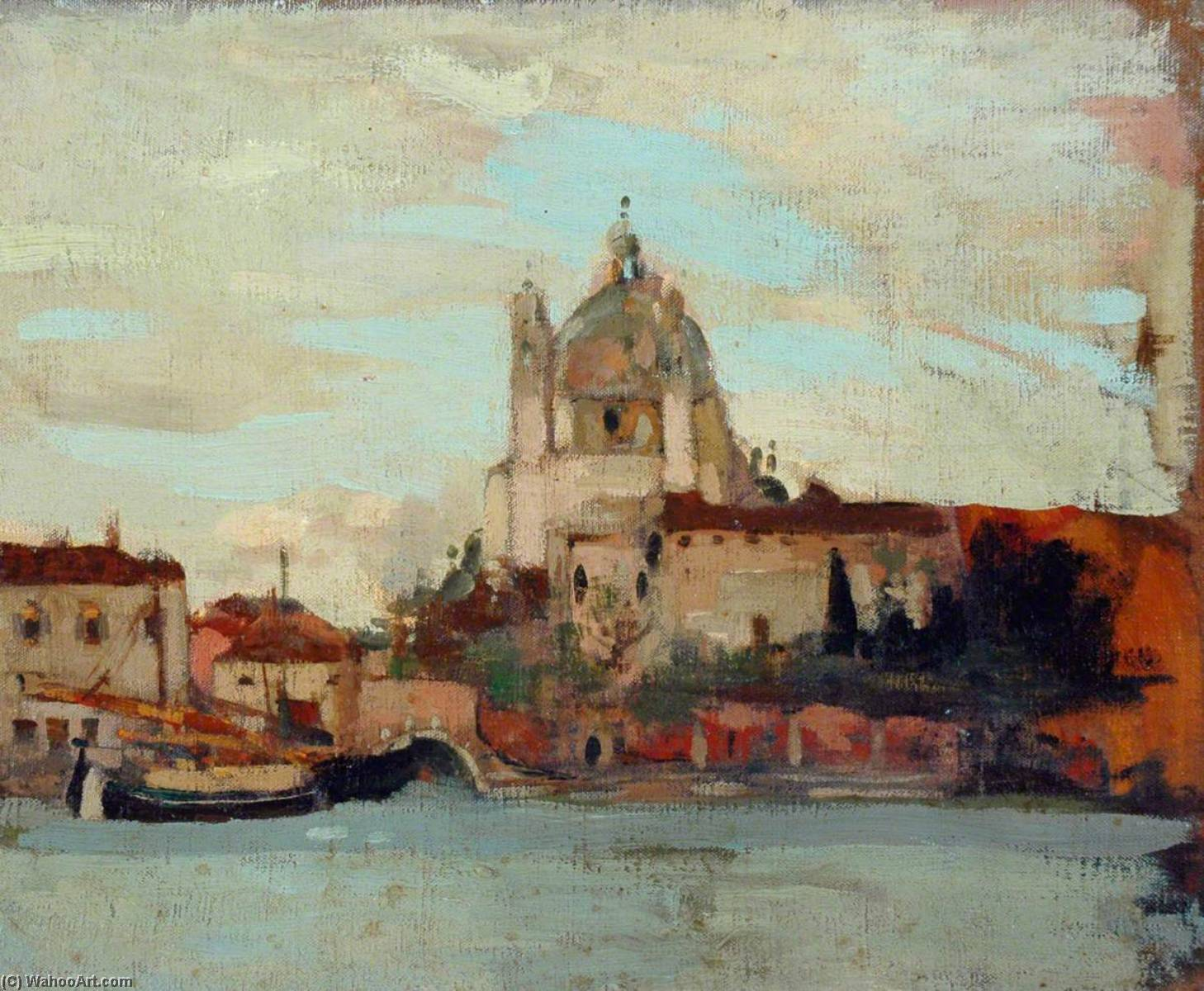 Venice, Oil On Canvas by James Kerr Lawson (1862-1939)