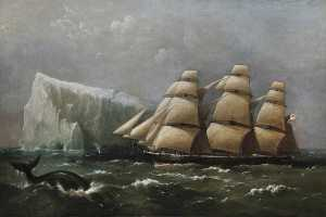 Richard Brydges Beechey - 'HMS Scout' Passing an Iceberg, 4 March 1875 (Captain, Ralph P. Cator)