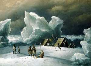 Richard Brydges Beechey - Captain Markham's Most Northerly Encampment