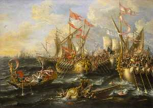 Lorenzo A Castro - The Battle of Actium, 2 September 31BC