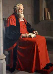 Meredith Frampton - Lord William Cecil (1863–1936), Bishop of Exeter (1916–1936)
