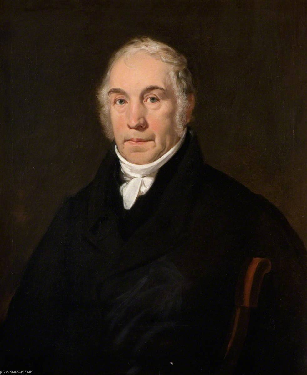 Enoch Wood (1759–1840), Oil On Canvas by Henry Room