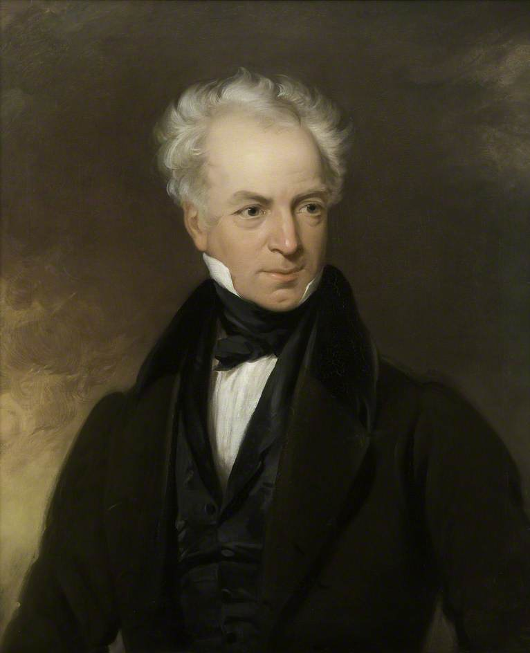 John Baron (1786–1851), Oil On Canvas by Henry Room