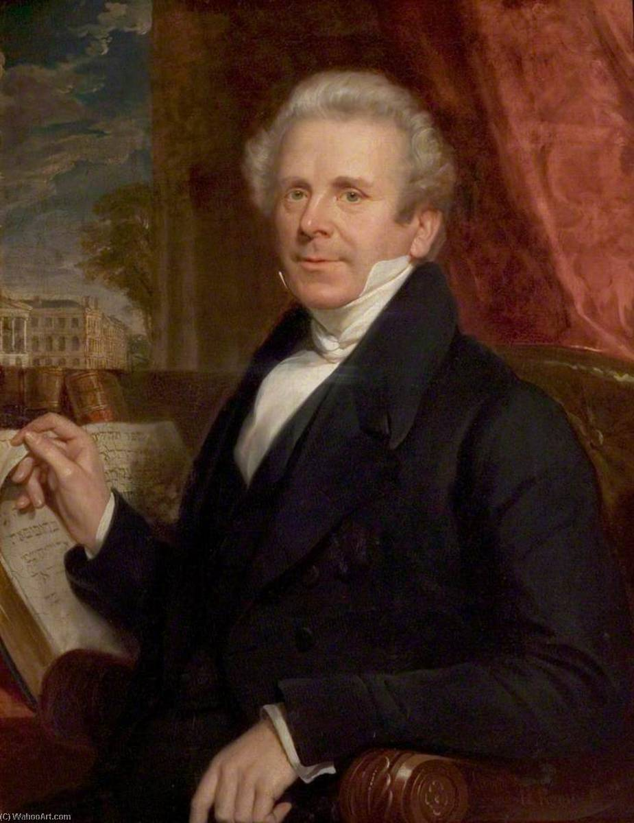 Ebenezer Henderson (1784–1858) by Henry Room | Painting Copy | WahooArt.com
