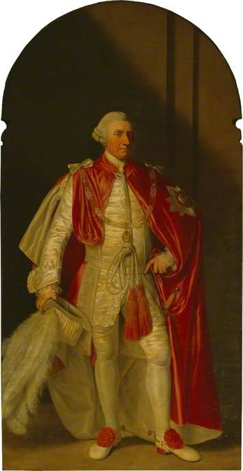 Buy Museum Art Reproductions | Sir John Griffin Griffin, 4th Lord Howard de Walden, 1774 by Biagio Rebecca (1735-1808) | WahooArt.com
