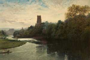 John Finnie - Chester with St John's Church