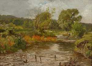 Martin Snape - Fly Fishing on the River Meon